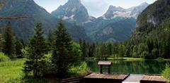 NP Kalkalpen, pohoří Totes Gebirge a Východní Solná komora s kartou