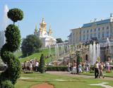 Petrohrad - klenot na Něvě letecky - Advent