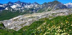 Lechtalské Alpy a skupina Silvretta