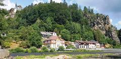 Rozhledna Kopanina, výlet přes hrady Frýdštejn a Vranov, skalní města