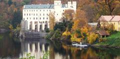 Zámek Orlík, hrad Zvíkov, plavba po Orlické přehradě