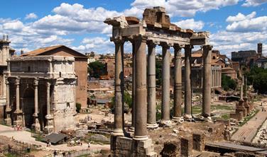 Řím - věčné město a návštěva Tivoli