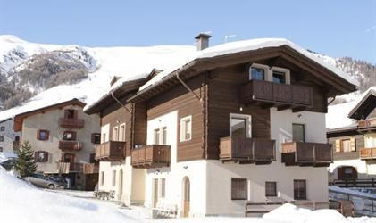 Apartmány Livigno