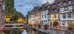 Alsasko, pohádka nejen o víně, slavnost trubačů