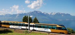 GoldenPass Express a Ženevské jezero ***