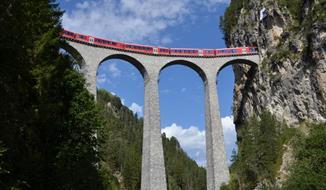 Nejkrásnější viadukty Rhétské dráhy