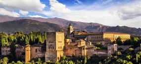 Krásy Andalusie, Elche, Caravaca de la Cruz - letecky