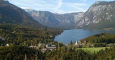 Julské Alpy a jezera Bled a Bohinj