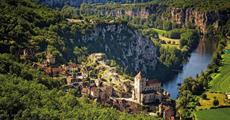 Zelený ráj Francie, kaňony a památky Unesco