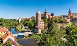 Krásy jarních zahrad Saska a Lužice