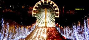 Silvester a Nový rok v Paríži letecky