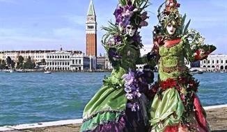 Benátsky karneval s ceremoniálom LET ANJELA