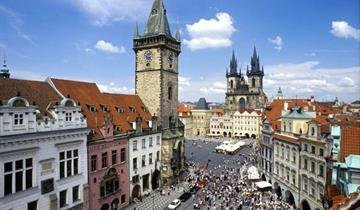 Veľkonočná Praha a zámok Konopište