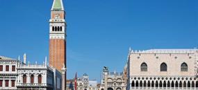 Veľkonočné Benátky a zámok Miramare