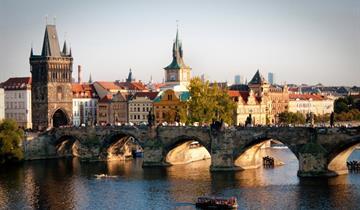 Praha a zámok Konopište