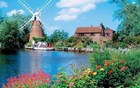 Holandsko - země tulipánů