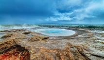 Island s lehkou turistikou - stan