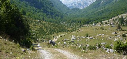 Černá Hora, Albánie - Prokletije a Plavské jezero na kole v pohodě - stan