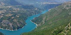 Černá Hora - NP Durmitor, Sinjajevina na kole se zastávkou u moře - stan