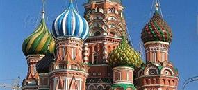 Rusko - Moskva a Petrohrad letecky