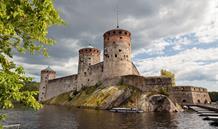 Lotyšsko, Estonsko, Rusko, Finsko - Petrohrad, Finsko a okruh pobaltskými republikami - letecky