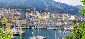 Francie – Nice – Monte Carlo, Cannes – letecky