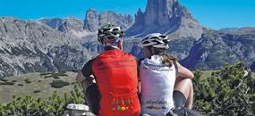 Rakousko, Itálie - Cyklostezky Dolomit a Východních Tyrol