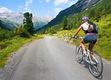 Rakousko - Pohodový týden na kole - Vysoké Taury a Krimmelské vodopády na kole s kartou