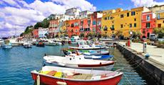 Itálie - Ischia - smaragdový ostrov - letecky