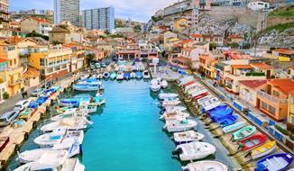 Francie - Velikonoční pohlednice z Provence a Marseille