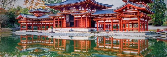 Kouzelné Japonsko v jarních, letních nebo podzimních barvách