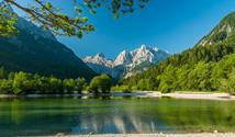 Slovinsko - cyklostezka - Z Julských Alp k moři