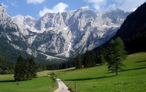 Pohodový týden na kole - Slovinsko - Perla Julských Alp - Bled