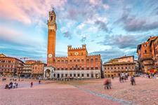 Itálie - Historie a víno Toskánska letecky