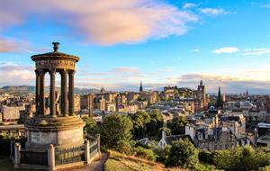 Skotsko - Edinburgh a Glasgow s výletem na skotskou vysočinu