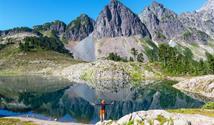 USA - Turistika mezi vulkány Kaskádového pohoří - Mt. Rainier a Mt. Baker