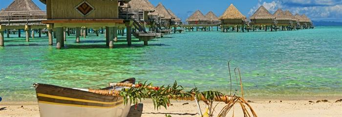Tahiti, Bora Bora, Raiatea, Taha´a - rajské ostrovy v Tichém oceánu