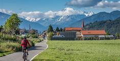 Od Salzburgu k Jadranu na kole - Ciclovia Alpe Adria Radweg