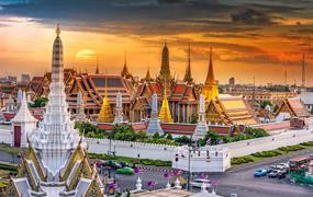 Pohoda na kouzelných třech ostrovech Thajského zálivu