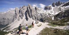 Pohodový týden v Alpách - Itálie - Zahrada Dolomit Tre Cime