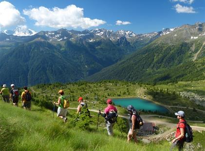 Pohodový týden v Alpách - Passo Tonale-ráj pod ledovcem s kartou