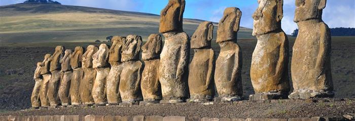 Velikonoční ostrov, Chile - Za přírodou, kulturou a vínem centrálního Chile a záhadnými sochami moai