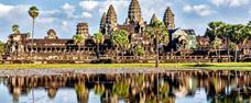 Chrámy Angkoru, velkoměsto Phnom Penh a pláž Sihanoukville