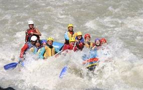 Total rafting tour