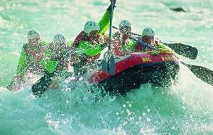 Inn+Ötztaler Ache, Adventure rafting