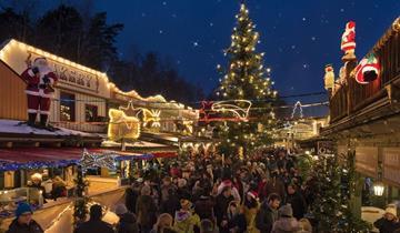 Americké vánoční trhy v Pullman City