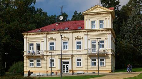 Lázeňský penzion Mánes