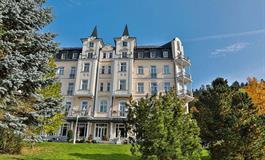 Hotel Sun Palace Spa a Wellness - balíček ozdravný pobyt s koupelemi