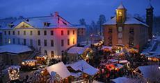 Adventní autobusový zájezd - Zimní pohádka na pevnosti Königstein vánoční PIRNA Nejkrásnější vánoční trhy v Saském Švýcarsku