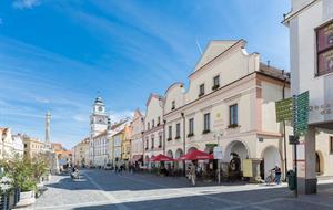 Hotel Zlatá hvězda Třeboň - balíček Dámskám jízda na 3 dny